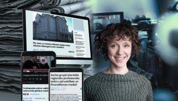 Cilvēks ziņu virsrakstos: Aktrise Karīna Tatarinova par pandēmijas laiku Liepājas teātrī