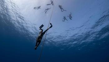 Юлия Марьевич: ты не можешь паниковать, когда над тобой 60 метров воды