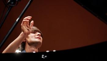 """Pianista Vestarda Šimkus solokoncerts Kultūras pilī """"Ziemeļblāzma"""""""