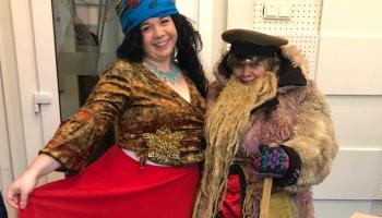 Anna i Agnese Kārklis – Zīmys saulgrīžu tradicejis, maskuošonuos i dzīduošona