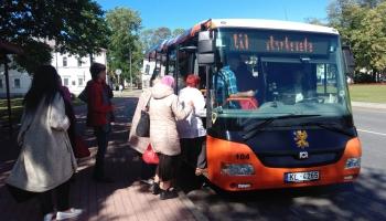 Iedzīvotāji kritizē metro principa ieviešanu Rēzeknes autobusu satiksmē