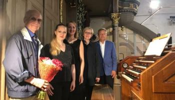 Paula Dambja 85. jubilejas koncerts Rīgas Domā