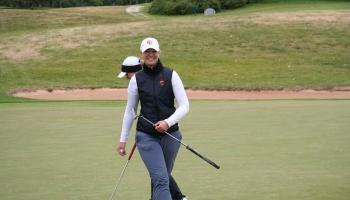 Pieckārtējā Latvijas čempione golfā Anna Švanka. Artūra Štālberga plāni basketbolā