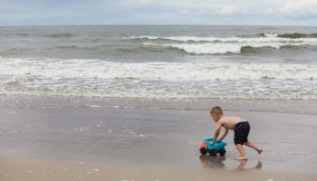 Калнгале: край моря для любителей уединиться