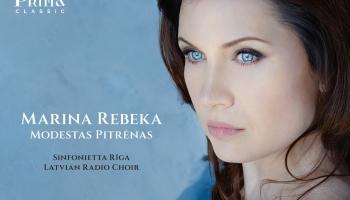 """Marina Rebeka, Latvijas Radio koris, """"Sinfonietta Rīga"""" un Modests Pitrens albumā """"Credo"""""""
