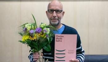 Dzejas dienu balvas laureāts Jānis Hvoinskis: Jo vairāk raksti, jo mazāk tiek pierakstīts