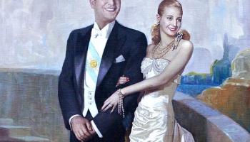 21. oktobris. Argentīnas politiķis Huans Perons apprec aktrisi Evu Duarti