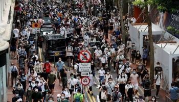 Drošības likums Honkongā. Pasliktinājušās attiecības starp Franciju un Turciju