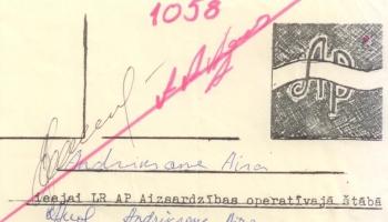 Barikāžu stāsti: Aira Andriksone Augstākajā padomē