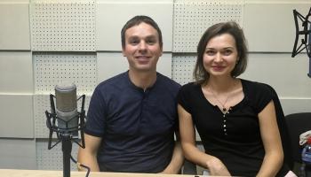 """""""Rīga"""" sezonu atklāj kopā ar """"Art-i-Shock"""". Studijā Valdis Butāns un Elīna Endzele"""