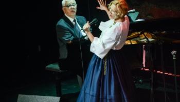 """Maestro Raimonds Pauls un dziedātāja Ance Krauze izdod albumu """"Sasala jūrīna"""""""