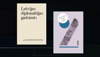 """Eseju krājums """"Latvijas diplomātijas gadsimts"""" un Māra Čaklā """"Rakstu"""" 2. sējums"""""""