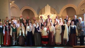 """Parīzes kora """"Latve"""" vīru grupā dzied tikai francūži, kuri ļoti mīl Latviju"""