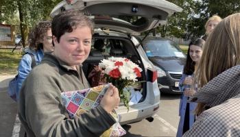Žurnālistu darbs Baltkrievijā. Stāsta žurnāliste Anastasija Zahareviča