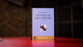 """Laimas Kotas literāri teatrālā versija par Anšlavu Eglīti - romāns """"Cilvēks ar zilo putnu"""""""