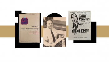 Dziedātājam un ārstam Jānim Vilibertam Kļaviņam - 100