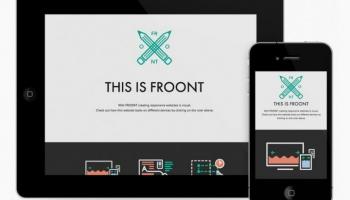 FROONT - latviešu interneta dizaina rīks iekaro pasauli