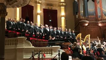 "VAK ""Latvija"" un Stravinska ""Ķēniņš Oidips"" Amsteramas Karaliskajā ""Concertgebouw"""