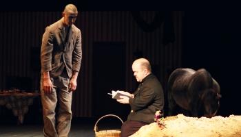 """""""Stāsts par Kasparu Hauzeru"""" Jaunajā Rīgas teātrī (2002) - absolūts mākslas darbs"""