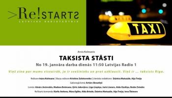 """Arvja Kolmaņa seriāls """"Taksista stāsti"""" radio programmā no 19. janvāra!"""