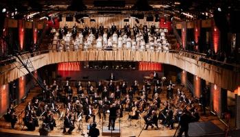 """Pētera Vaska 75. jubilejas koncerts """"Klātbūtne"""" koncertzālē """"Cēsis"""""""