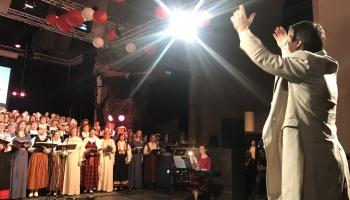 Kultūras svētki Nīderlandē, dziedāšana Toronto. Kaspara Ādamsona un Mārtiņa Klišāna stāsts