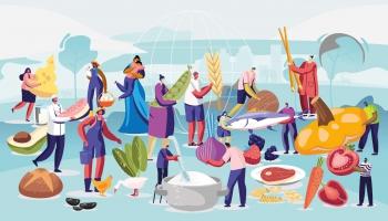 Elīna Pekšēna, Pasaules Dabas fonds: Planētai draudzīgs uzturs