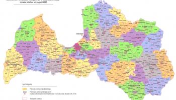 VARAM piedāvā no 2025. gada valstpilsētas apvienot ar piegulošajiem novadiem