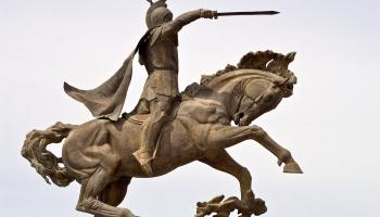 26. maijs. Kaujā iet bojā armēņu karavadonis - nacionālais varonis Vardans Mamikonjans