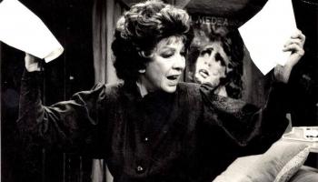 """Atceroties teātra un kino aktrisi Elzu Radziņu. Pāvils Rozītis """"Pastmeistara kundze"""""""