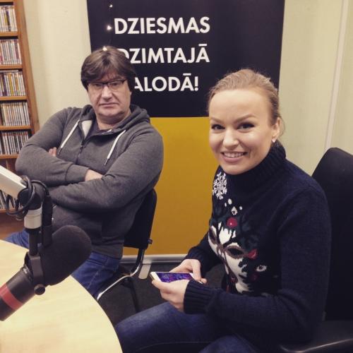 Dināra Rudāne un Jānis Lūsēns ar svētku sajūtu, jaunu dziesmu un koncertprogrammu