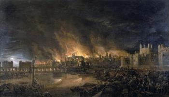 2. septembris. Londonā sākas Lielais Londonas ugunsgrēks