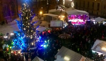 Folkkultūras programma Doma laukuma Ziemassvētku tirdziņā un svētku radošās darbnīcas