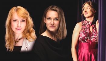 """Ilze Grēvele-Skaraine, Baiba Tilhena un Larisa Carjkova koncertā """"Meditācijas Dievmātei"""""""