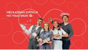 Latvijas Radio nodrošinās plašāko Dziesmu un deju svētku  norises atspoguļošanu