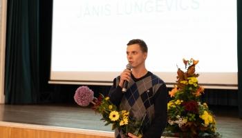RTU Gada studentu balvas valorizācijā ieguvējs Jānis Lungevičs