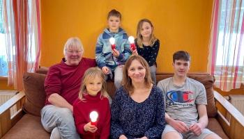 Ciemos pie Gaujenieku ģimenes