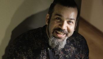 Perkusionists Miguel Andres Hernandez Giraldi