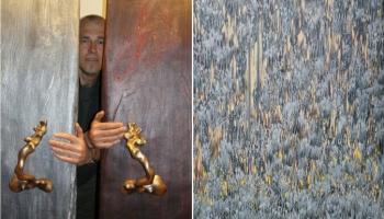 Cēsu Izstāžu namā aplūkojami Ivara Miķelsona un Arta Butes darbi