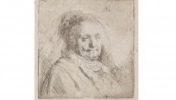 Vai zinājāt, ka ar Latvijas mākslas kolekcijām ir saistīti divi Rembranta mātes portreti?
