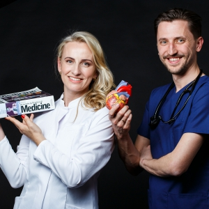 Dubultportretā dzīvesbiedri - Roberts un Linda Federi, kardiologs un uztura speciāliste