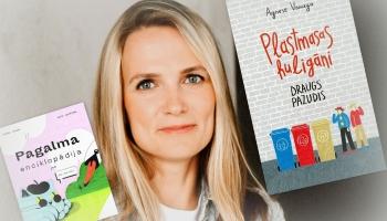 Zelta pogas sabiedrībā bērnu grāmatu autore Agnese Vanaga