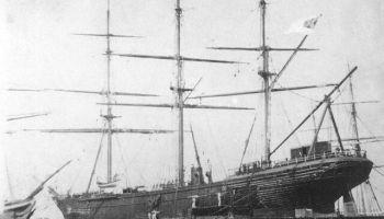 """6. novembris. """"Šenando"""" - pēdējais kuģis zem konfederātu karoga"""