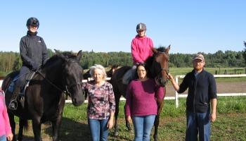 """Zirgu sētas ''Untumi"""" saimniece Ligita Harčevska zirgus sauc par dzīvesveidu"""