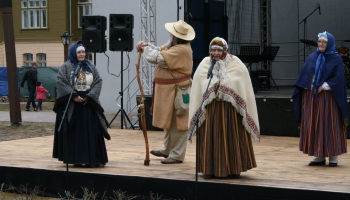 Stāsti tāmnieku dialektā un Kuldīgas puses dziesmas