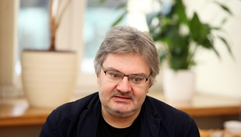 """Rolanda Kronlaka jaundarbs """"Plūsma"""" Latviešu simfoniskās mūzikas lielkoncertā"""