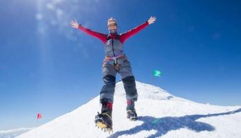Анастасия Босых: Ты можешь подняться на гору, но не покорить её