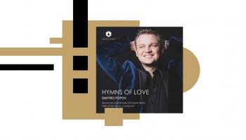 """Dmitro Popovs, Berlīnes Vācu SO un diriģents Mihails Simonjans albumā """"Hymns of Love"""