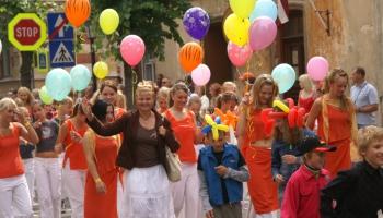 Par nedēļas nogales pilsētu un velo svētkiem Latvijā