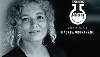 Dzejniece un kultūras pasākumu producente Madara Gruntmane